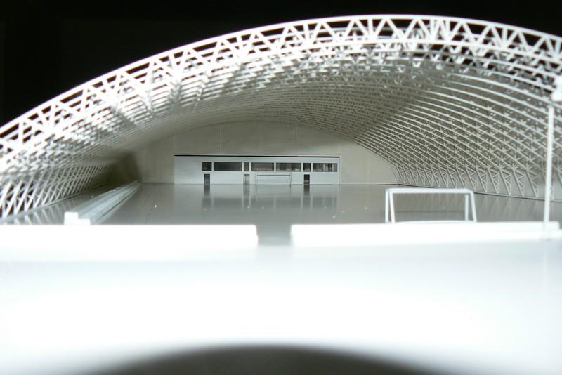 Makieta - Centrum Piłkarskie w Warszawie, widok 10