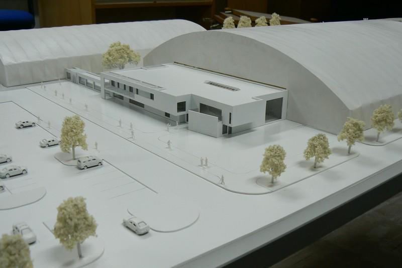 Makieta - Centrum Piłkarskie w Warszawie, widok 9