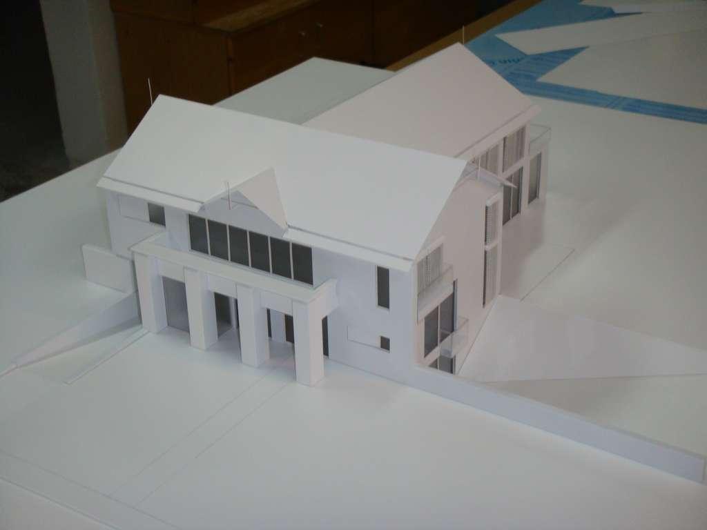 Makieta domu jednorodzinnego, widok 2