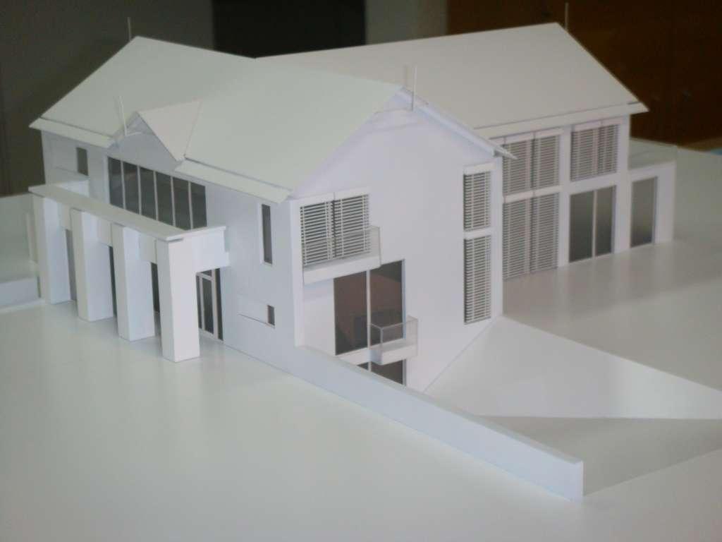 Makieta domu jednorodzinnego, widok 6