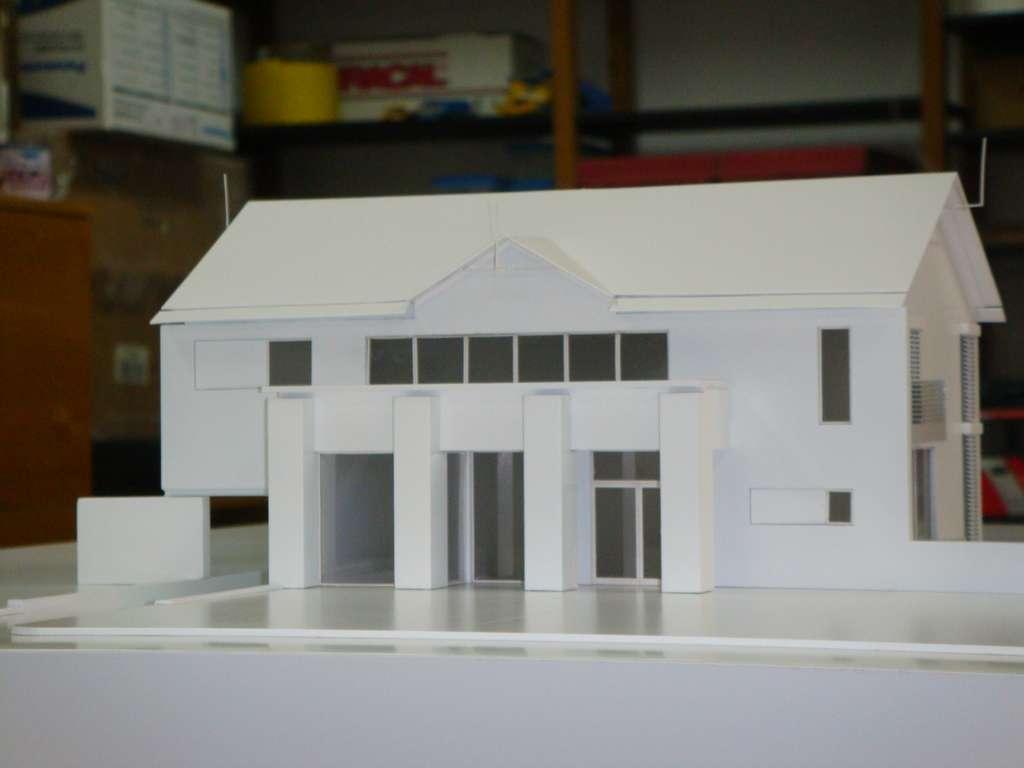 Makieta domu jednorodzinnego, widok 9