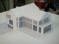 Makieta domu jednorodzinnego,widok 1