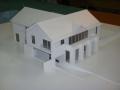 Makieta domu jednorodzinnego, widok 3