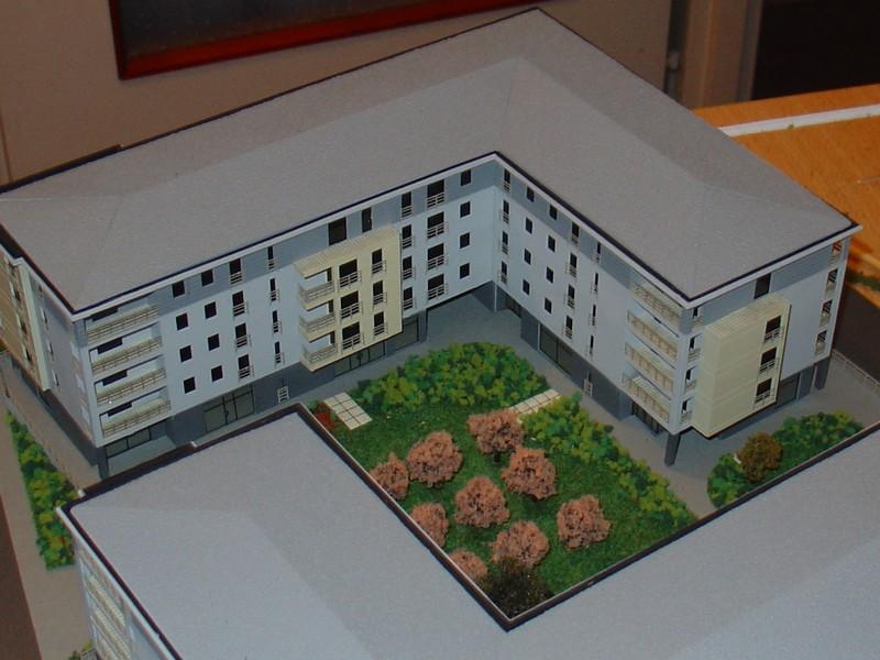 Makieta osiedla mieszkaniowego Eolian Park w Warszawie, widok 7
