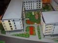 Makieta osiedla mieszkaniowego Eolian Park w Warszawie, widok 1