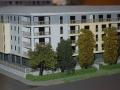 Makieta osiedla mieszkaniowego Eolian Park w Warszawie, widok 2