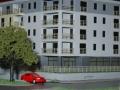 Makieta osiedla mieszkaniowego Eolian Park w Warszawie, widok 4