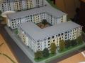 Makieta osiedla mieszkaniowego Eolian Park w Warszawie, widok 8
