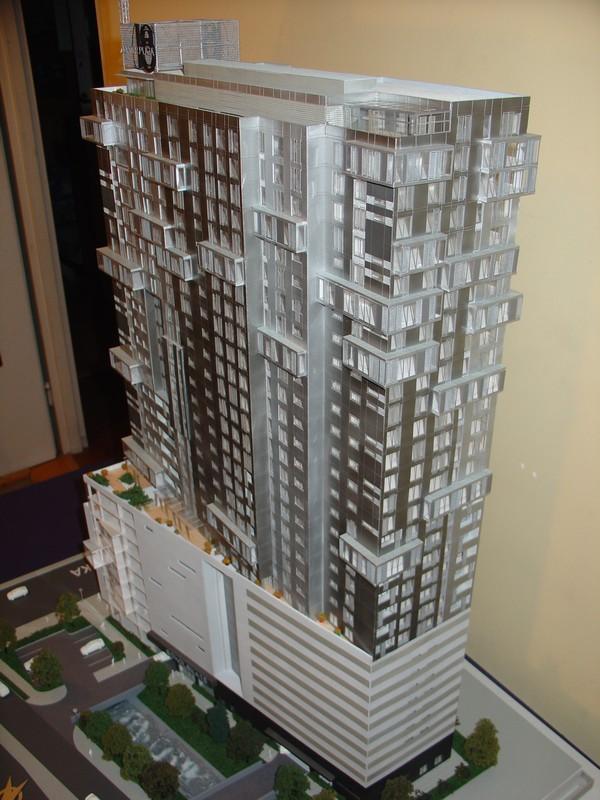 Makieta - Apartamentowiec Jupiter Plaza w Katowicach, widok 1