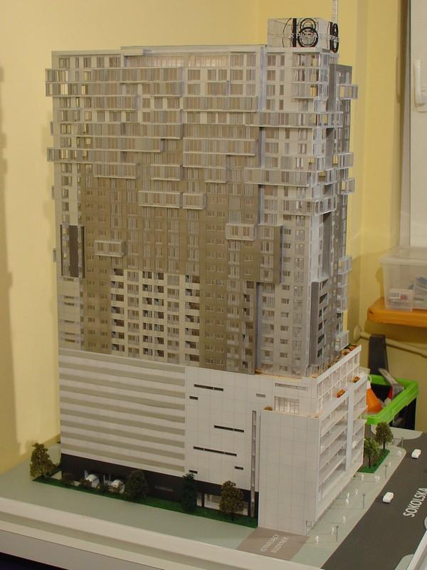 Makieta - Apartamentowiec Jupiter Plaza w Katowicach, widok 10