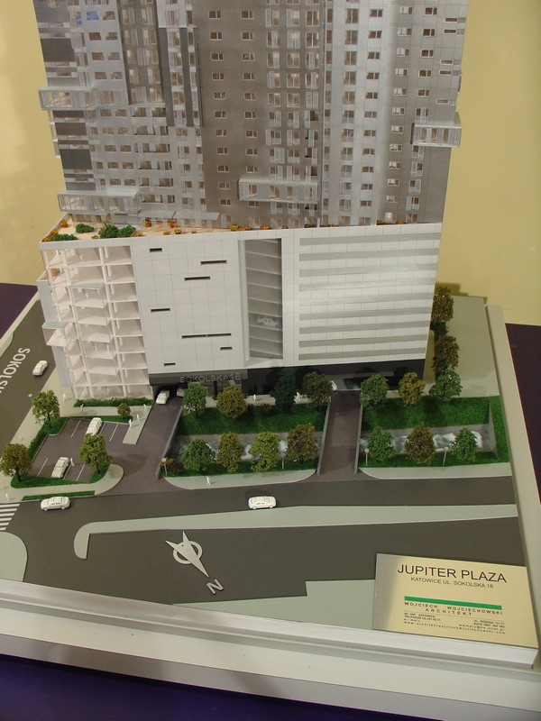 Makieta - Apartamentowiec Jupiter Plaza w Katowicach, widok 11