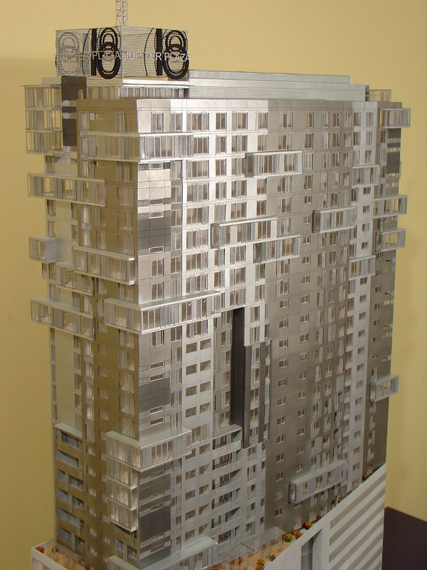 Makieta - Apartamentowiec Jupiter Plaza w Katowicach, widok 12
