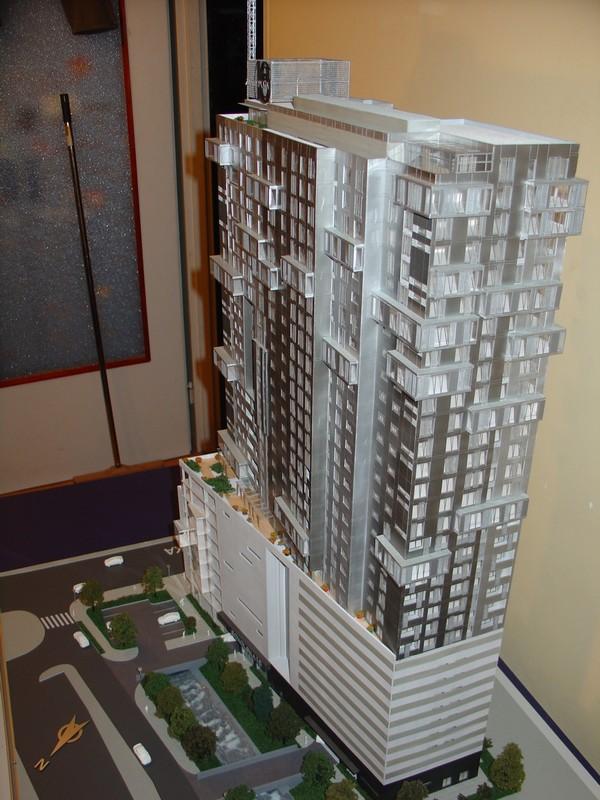 Makieta - Apartamentowiec Jupiter Plaza w Katowicach, widok 2
