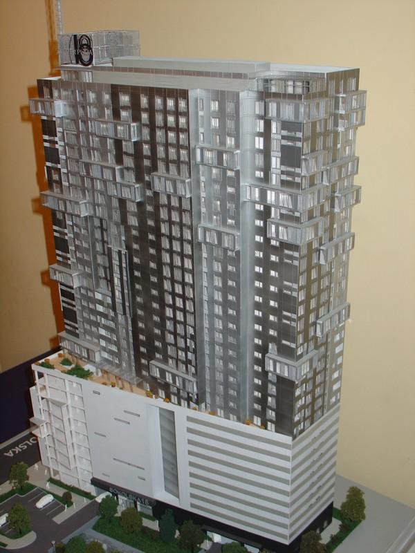 Makieta - Apartamentowiec Jupiter Plaza w Katowicach, widok 4