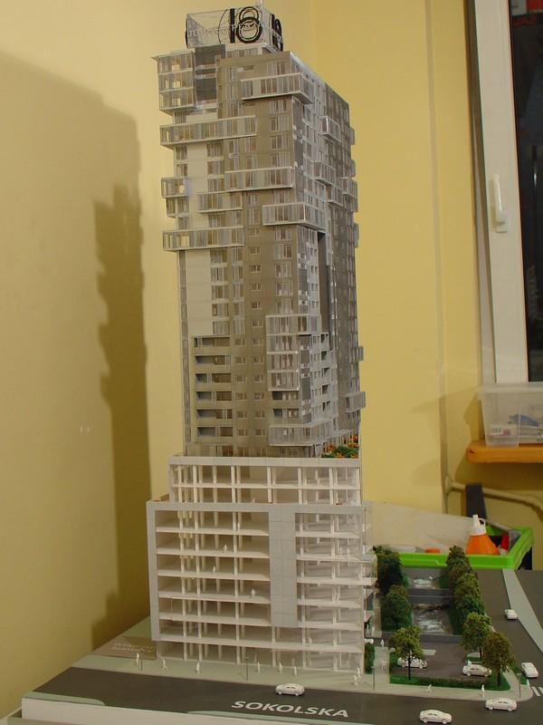 Makieta - Apartamentowiec Jupiter Plaza w Katowicach, widok 7