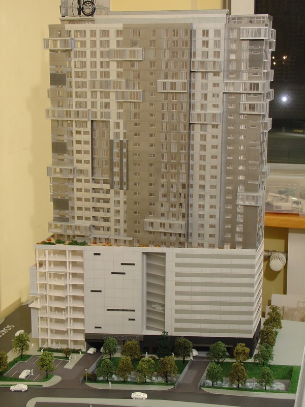 Makieta - Apartamentowiec Jupiter Plaza w Katowicach, widok 8