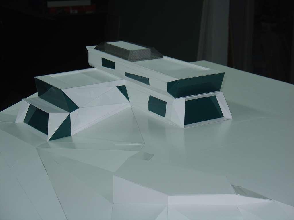 Makieta koncepcyjna - budynek muzeum, widok 12