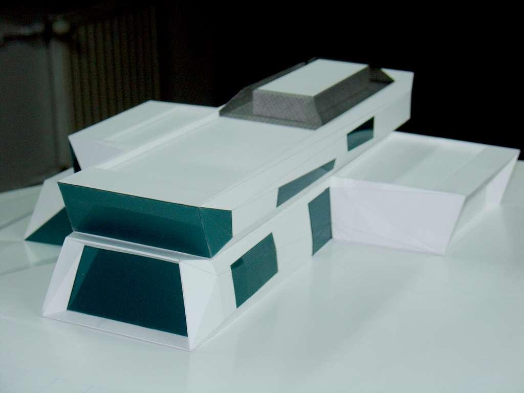 Makieta koncepcyjna - budynek muzeum, widok 13