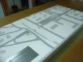 Makieta urbanistyczna - projekt tunelu Ząbki, widok 1