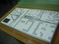Makieta urbanistyczna - projekt tunelu Ząbki, widok 3