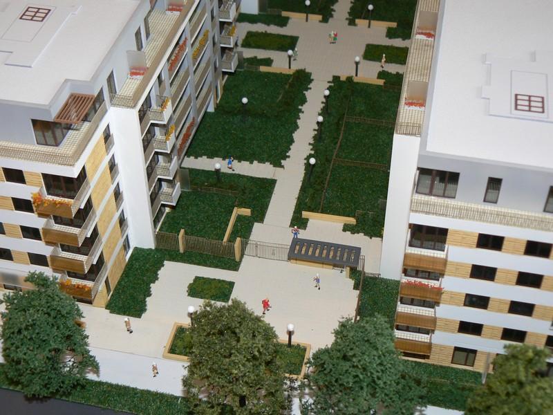 Makieta - Osiedle mieszkaniowe Maraton Gardens w Poznaniu, widok 4