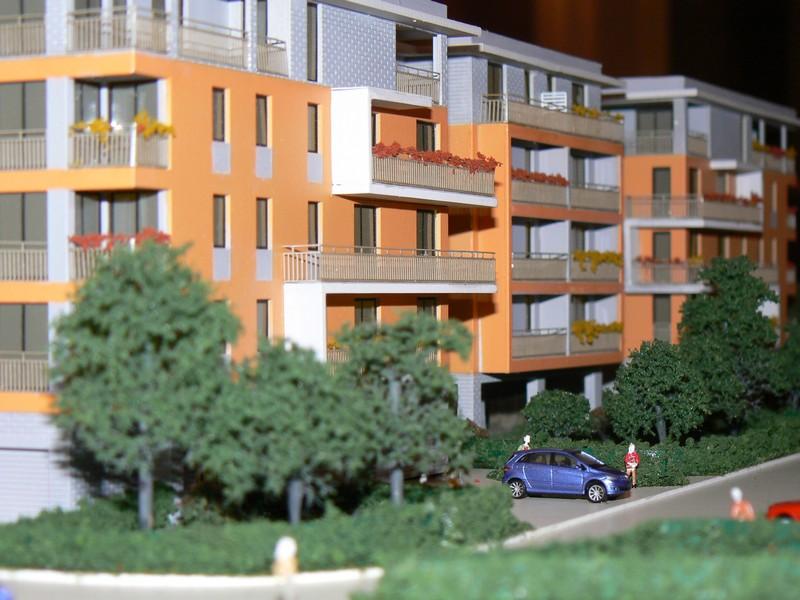 Makieta architektoniczna - Osiedle Aleksandria Łódź, widok 9