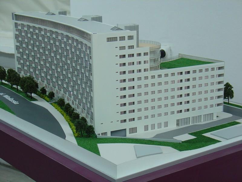 Makieta apartamentowca- Pacyfic Residence w Warszawie, widok 12