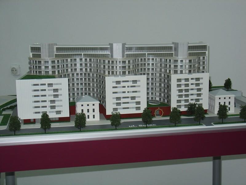 Makieta apartamentowca- Pacyfic Residence w Warszawie, widok 14