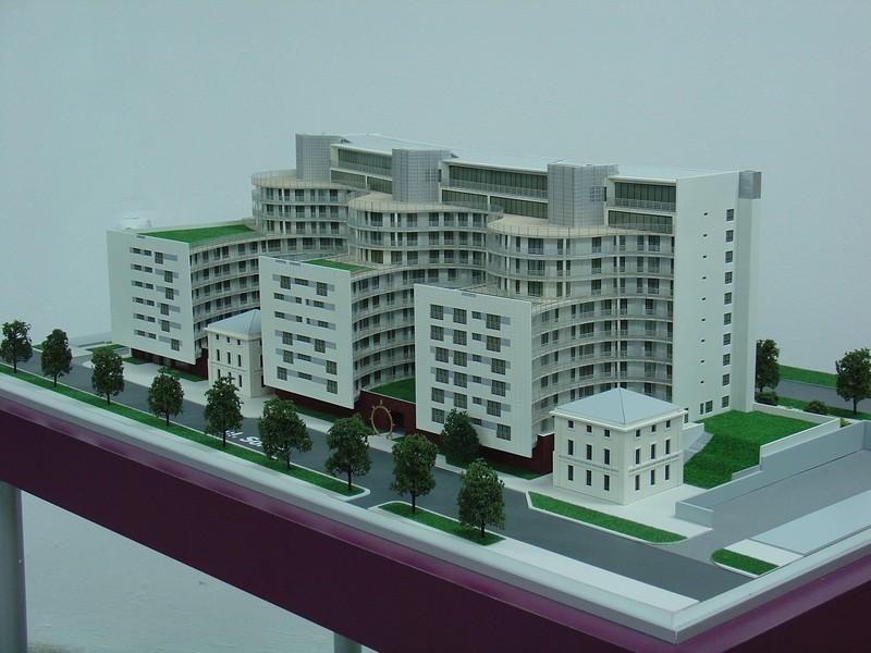 Makieta apartamentowca- Pacyfic Residence w Warszawie, widok 15