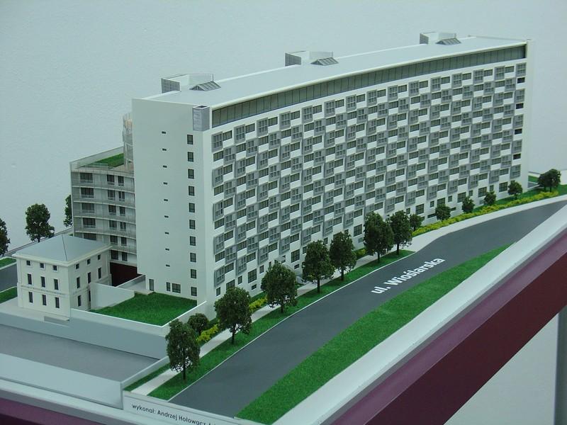 Makieta apartamentowca- Pacyfic Residence w Warszawie, widok 17