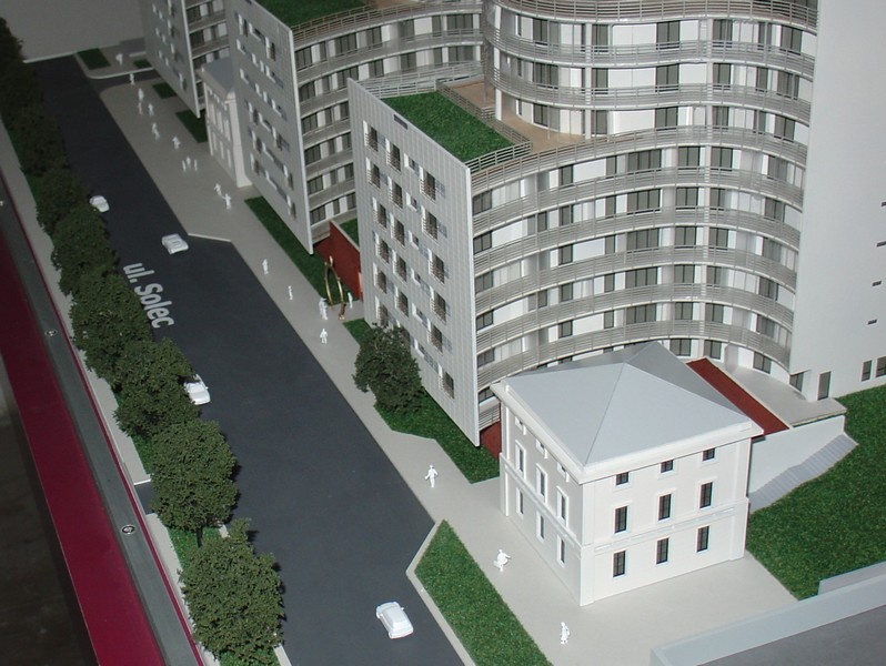 Makieta apartamentowca- Pacyfic Residence w Warszawie, widok 18