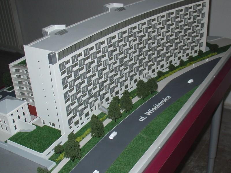 Makieta apartamentowca- Pacyfic Residence w Warszawie, widok 19
