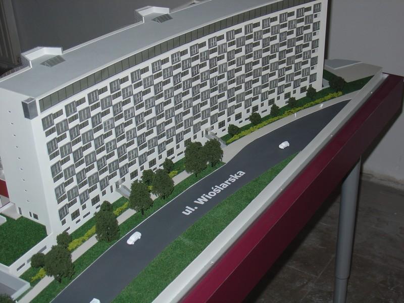 Makieta apartamentowca- Pacyfic Residence w Warszawie, widok 21