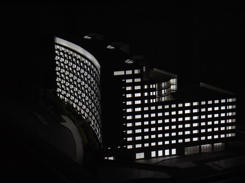 Makieta apartamentowca- Pacyfic Residence w Warszawie widok 5,