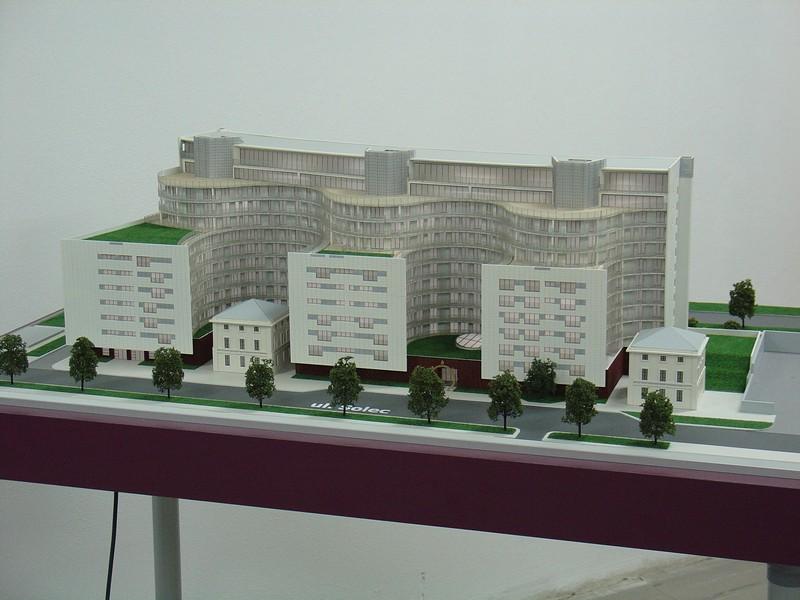 Makieta apartamentowca- Pacyfic Residence w Warszawie, widok 7