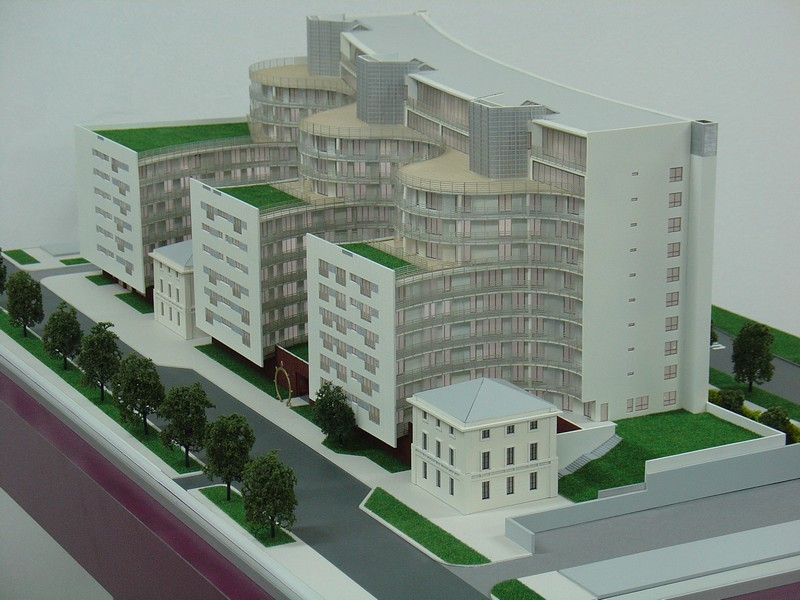 Makieta apartamentowca- Pacyfic Residence w Warszawie, widok 9