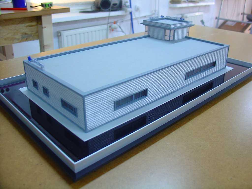 Makieta - budynek biurowy PKP Cargo, widok 5