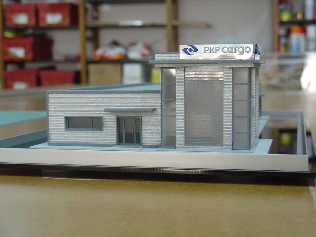 Makieta - budynek biurowy PKP Cargo, widok 7