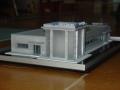 Makieta - budynek biurowy PKP Cargo, widok 2