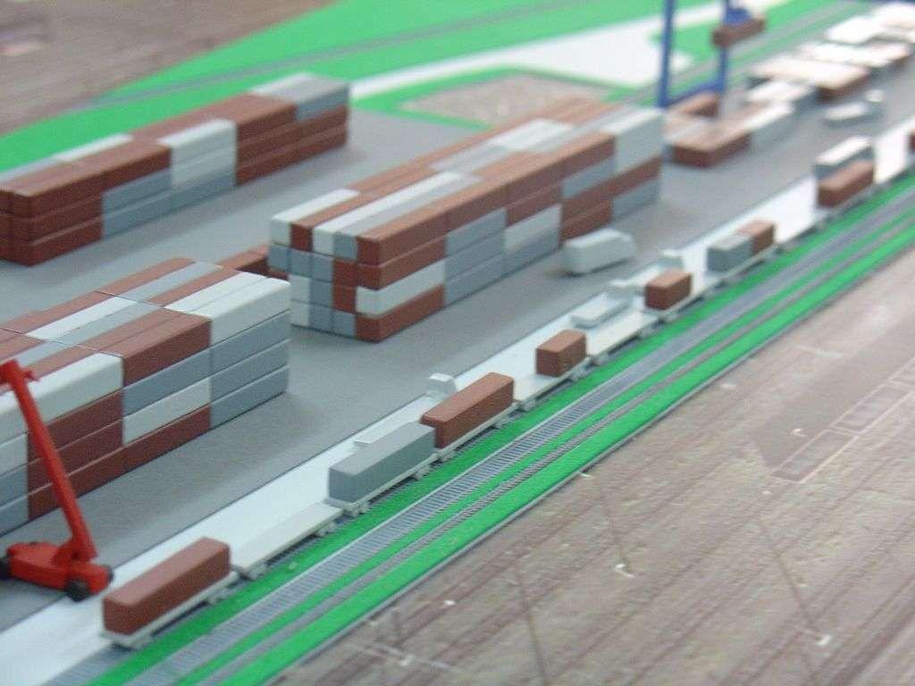 Makieta - terminal kontenerowy PKP Cargo, widok 13