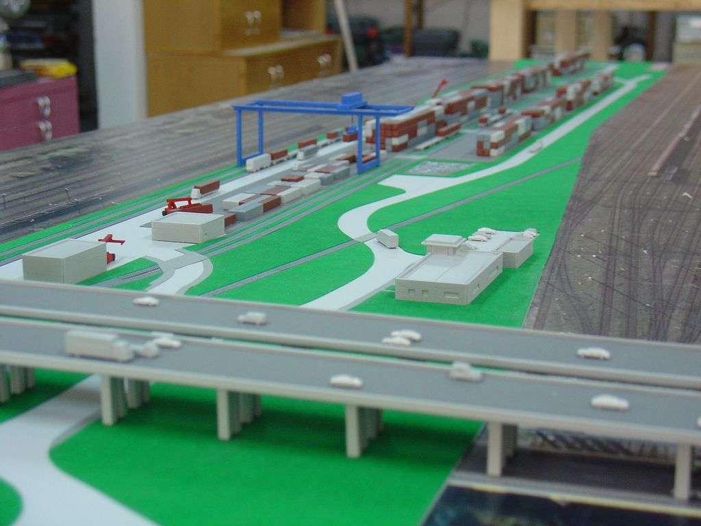 Makieta - terminal kontenerowy PKP Cargo, widok 9