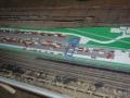 Makieta - terminal kontenerowy PKP Cargo, widok 1