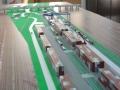 Makieta - terminal kontenerowy PKP Cargo, widok 10