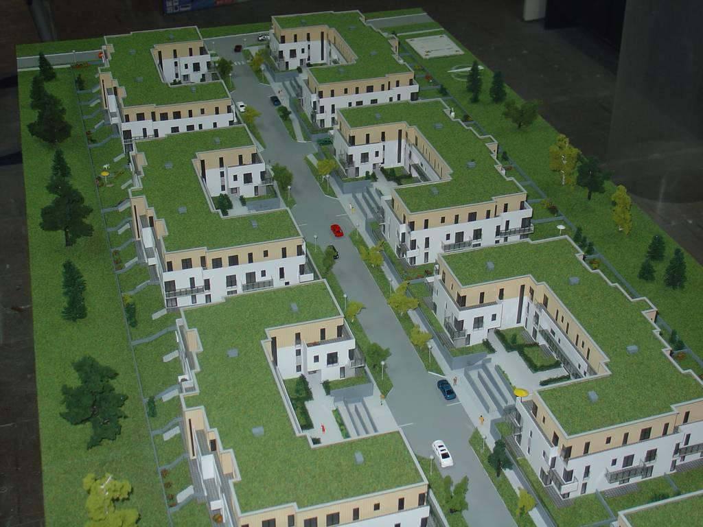 Makieta architektoniczna - Osiedla Queens Garden Józefosław, widok 14