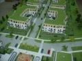 Makieta architektoniczna - Osiedla Queens Garden Józefosław, widok 2