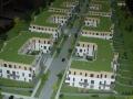 Makieta architektoniczna - Osiedla Queens Garden Józefosław, widok 6