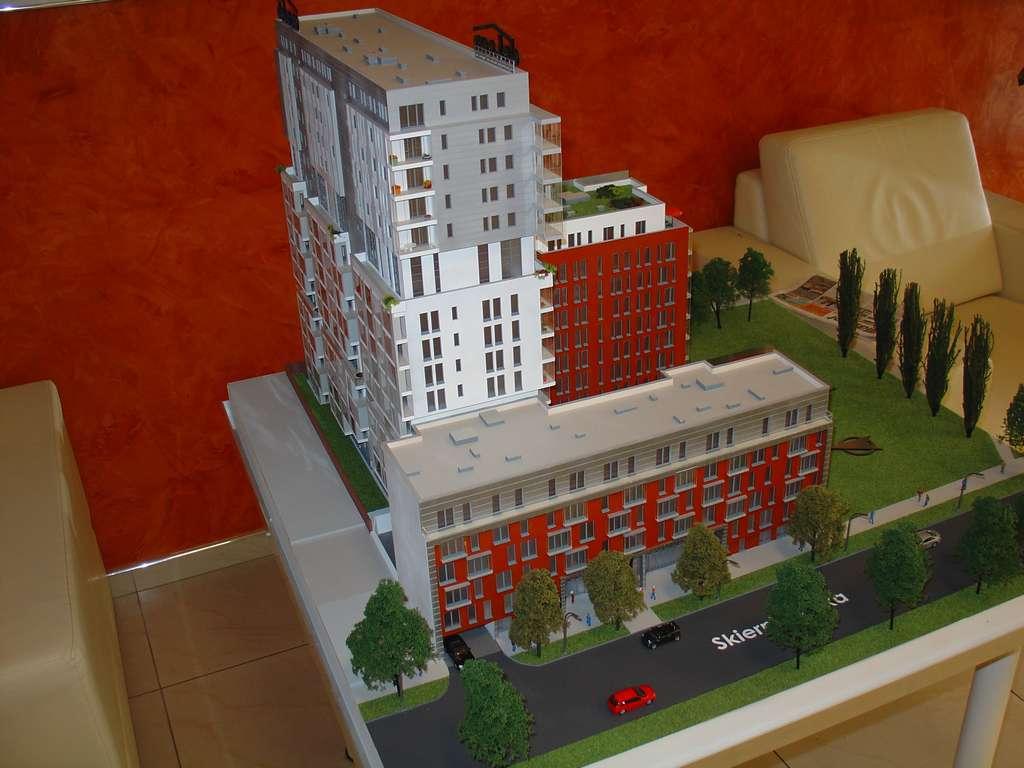 Makieta - Apartamentowiec Skierniewicka City, widok 1