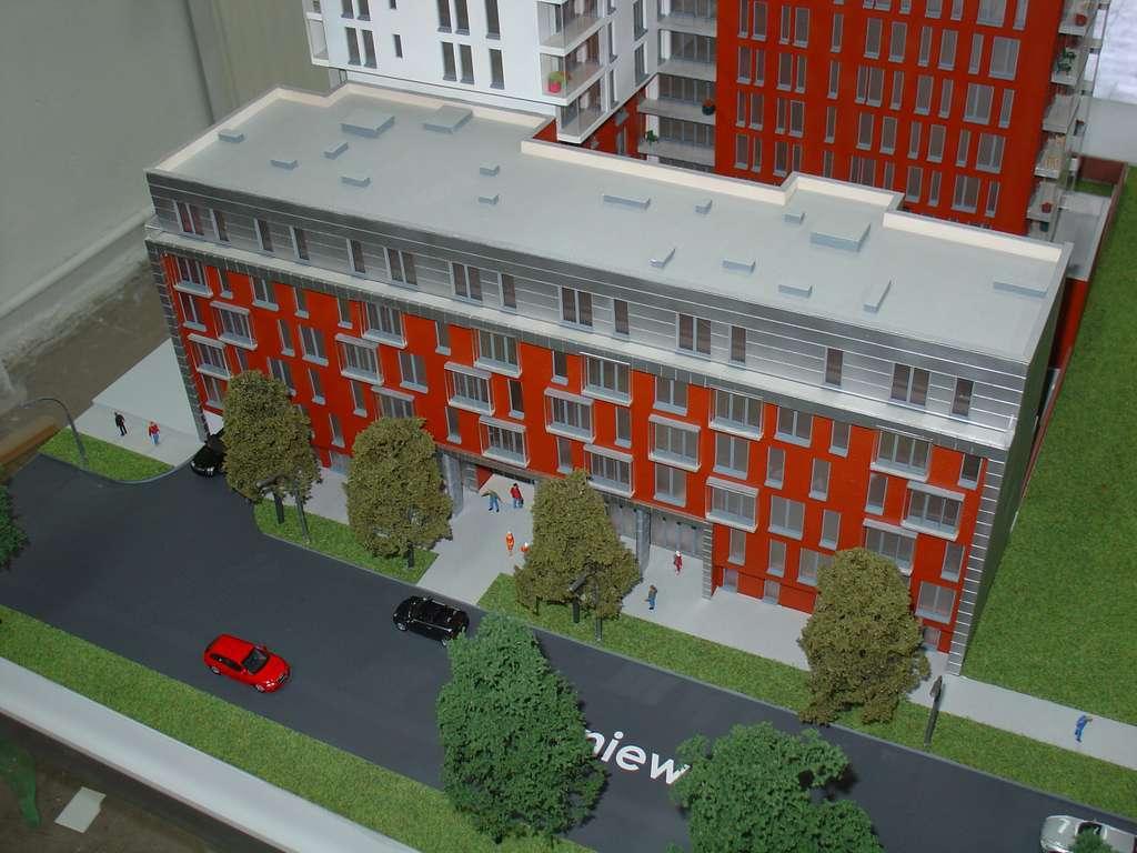 Makieta - Apartamentowiec Skierniewicka City, widok 10