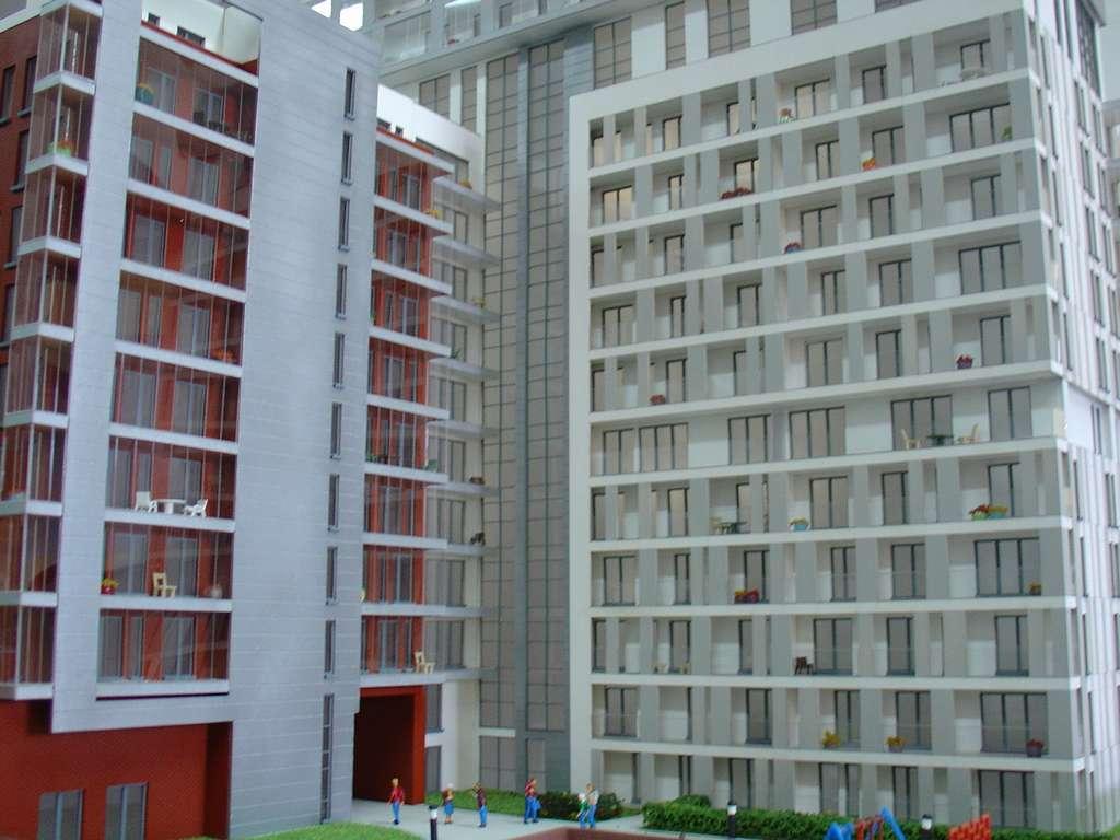 Makieta - Apartamentowiec Skierniewicka City, widok 12