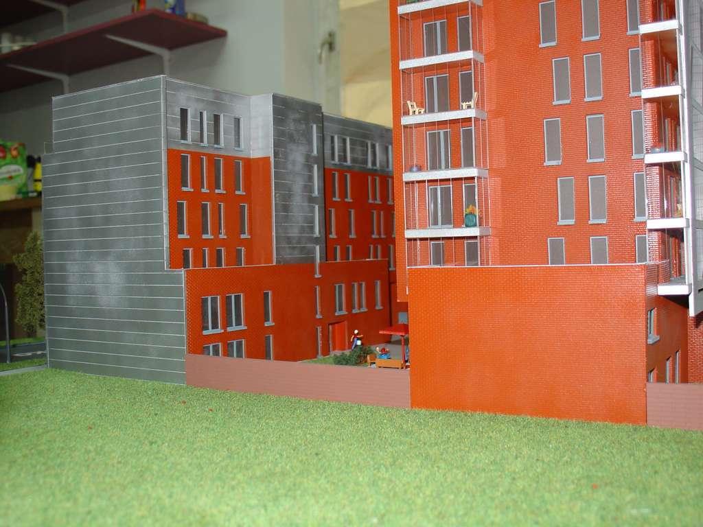 Makieta - Apartamentowiec Skierniewicka City, widok 13